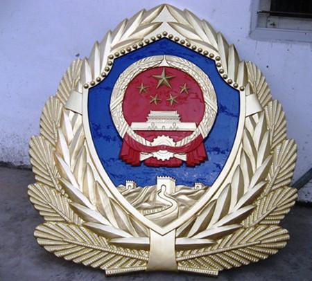 金坛武警徽